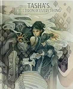Tasha's Cauldron of Everything Dungeons and Dragons Alternate Limited Cover