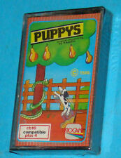 Puppys - Visiogame - Commodore 16 - Plus 4 - PAL New Nuovo Sealed