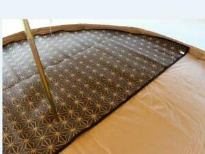Bell Tents Carpet for 3m 4m 5m 6m Glamping Camping Outdoor Half Moon Full Moon