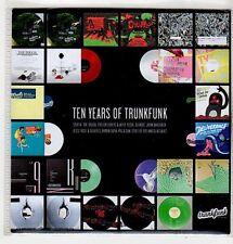 (FF607) Ten Years of Trunkfunk, 14 tracks various artists - DJ CD