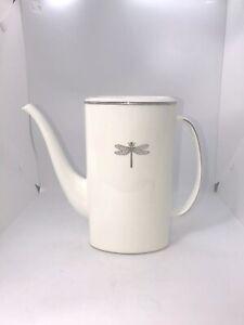 Lenox June Lane Platinum Coffee Pot Preowned