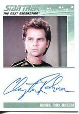 STAR TREK - TNG - COMPLETE SER 1 - CLAYTON ROHNER as ADM. JAMESON - NNO - AUTO