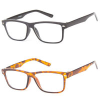 READING Readers Classic Large Unisex Frame Clear Lens Eye Glasses +1.0 to +3.5