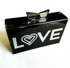 Lady Gaga Love Bravery Club Acrylic Clutch Purse by Lady Gaga and Elton John