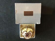 "Beautiful Vintage Avon Full Bloom Pin ""Lavender "" 1990 NIB"