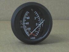 """Dual CHT/TACH 2"""" Round Gauge Celsius"""