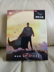 Man of Steel HDZeta Blu-ray Steelbook,  Sealed/Mint,  Fullslip