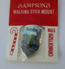 WALKING STICK BADGE / MOUNT / STOCKNAGEL SAMPSONS DOLGELLAU