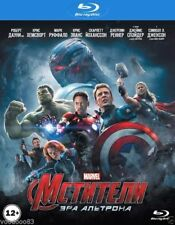 Avengers: Age of Ultron (Blu-ray, 2015) Eng,Russian,Polish,Czech,Kazakh *NEW*