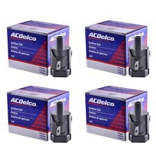 ACDelco Ignition Coil Set of (4) Fits LS2, LS4, LS7 Model Round Coil 2nd Design