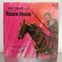 Walt Disney Presents The Story of Robin Hood - A Disneyland Record From Movie