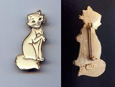 Older Disney Mom Duchess White Cat The Aristocats Pin RARE