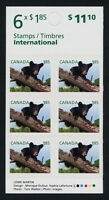 Canada 2610a Booklet MNH Baby Bear