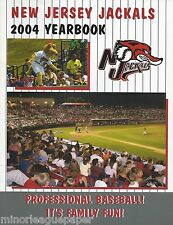 2004 New Jersey Jackals Minor League Baseball Yearbook - Northeast League