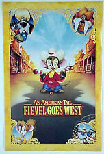American Tale Fievel Goes West Poster- Mint Rolled