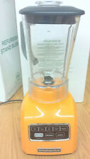 KitchenAid 5-Speed blender RR-ksb650tg 650 Series.9HP Tangerine Orange color