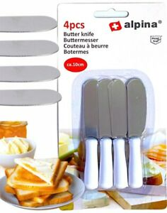 Mini Butter Cheese Slicer Knife Spreader Spatula Stainless Steel Sandwich Knives