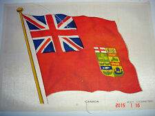 Antique Cigarette Silk National Flag Series Canada By BDV Cigarettes