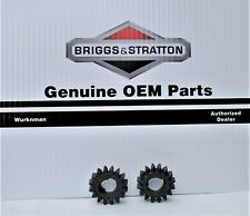 2 - Genuine OEM Briggs &  Stratton  695708 Starter Drive Gears  16T Fits 280104