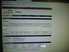 ARRIS Lot of 10 Touchstone CM820A DOCSIS 3.0 8X4 access GUI default 192.168.100.