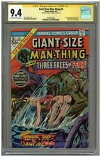 Giant-Size Man-Thing #5 (CGC Signature Series 9.4) OW/W p; Frank Brunner (j#716)