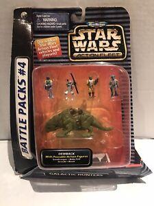 Micro Machines Star Wars Action Fleet Battle Pack #4 Dewback Galoob 1996