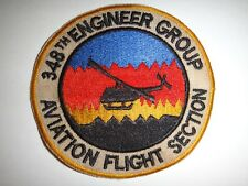 US Army 348th ENGINEER Group AVIATION FLIGHT Section Patch