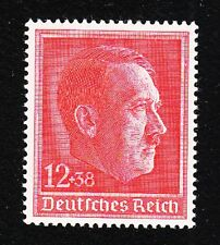 Germany Hitler Brithday 1938 Michel 664 Mint Never Hinged Small Color Dot Gum E