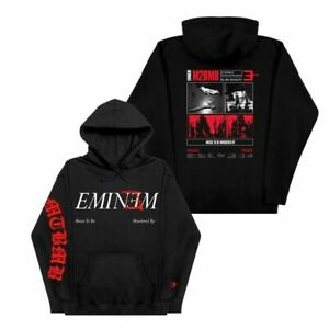 Eminem MTBMB SIDE B COLLECTION ALBUM ART HOODIE BLACK S Sweatshirt Schwarz S