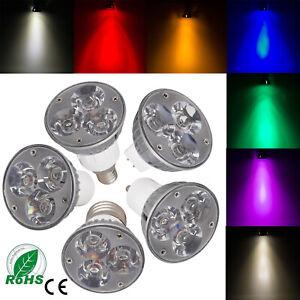 E27/GU10/GU5.3/MR16/E12/E26 Dimmable LED Spotlight Bulb High Power Epistar Lamp