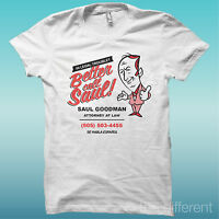 "T-SHIRT UOMO "" BETTER CALL SAUL FACCIA TELEFILM SERIE TV "" IDEA REGALO"