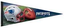 NEW ENGLAND PATRIOTS Official NFL Football Helmet-Style Premium Felt PENNANT