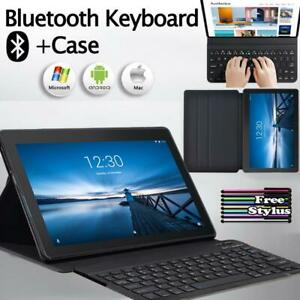 Leather Stand Case Cover +Bluetooth Keyboard For Lenovo TAB M10/TAB E10/M10 Plus