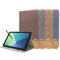 Folio Leather Stand Cover Case for Samsung Galaxy Tab A 10.1 S pen P580 / P585