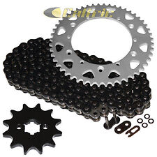 Black O-Ring Drive Chain & Sprockets Kit Fits YAMAHA YZ100 82 83 / YZ125 84 85