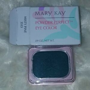 Mary Kay Powder Perfect Eye Color MISTY PINE SQUARE NIB OLD STOCK