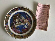 Hamilton - 1986 Golden Classic Carol Lawson Sleeping Beauty Plate 22K Gold