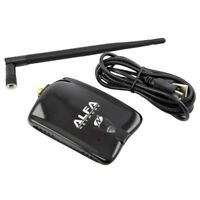 Alfa AWUS036NHA Wi-Fi USB Adapter 802.11n + 5 dBi antenna great for Linux
