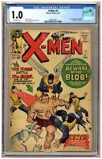 X-Men #3 (CGC 1.0) 1st appearance of the Blob Jack Kirby Marvel Comics 1964 C414