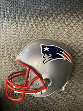 Patriots RB Damien Harris SIGNED Full size Replica Helmet  COA Alabama Autograph