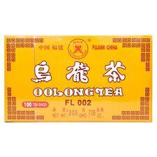 1 x Fujian China Oolong Tea 100 Tea Bags