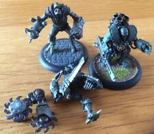 Fantasy Warmachine Reaper Miniatures Sci-Fi Terminators Lot Of 3 Painted RARE
