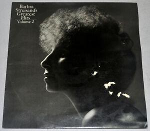 England Pressing BARBRA STREISAND Greatest Hits Volume II LP Record
