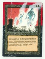 Animate Dead Altered Art MTG Magic Commander EDH Full 2020 Pimp Gift Birthday