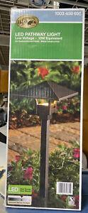 4.5-Watt Oil Rubbed Bronze Outdoor LED Landscape Path Light by Hampton Bay