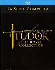 I TUDOR THE ROYAL COLLECTION SERIE COMPLETA COFANETTO 11 BLU RAY NUOVO