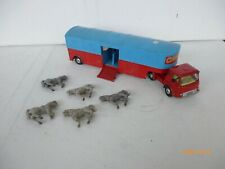 Corgi Toys 1/43  Bedford Articulated Horse Box Chipperfield Circus With 6 Horses