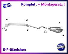Auspuffanlage Opel Astra H Caravan 1.6 1.8 Auspuff Mitteltopf Endtopf Montagesat