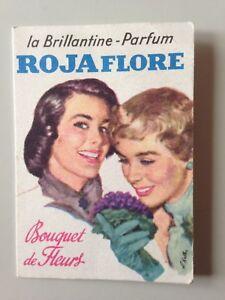MINI CALENDRIER 1963 LA BRILLANTINE PARFUM ROJAFLORE / ILL. R. KELLER ?