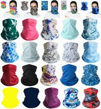 Elastic Face Mask Cooling Covering Breathable Neck Gaiter Bandana Wicking Scarf